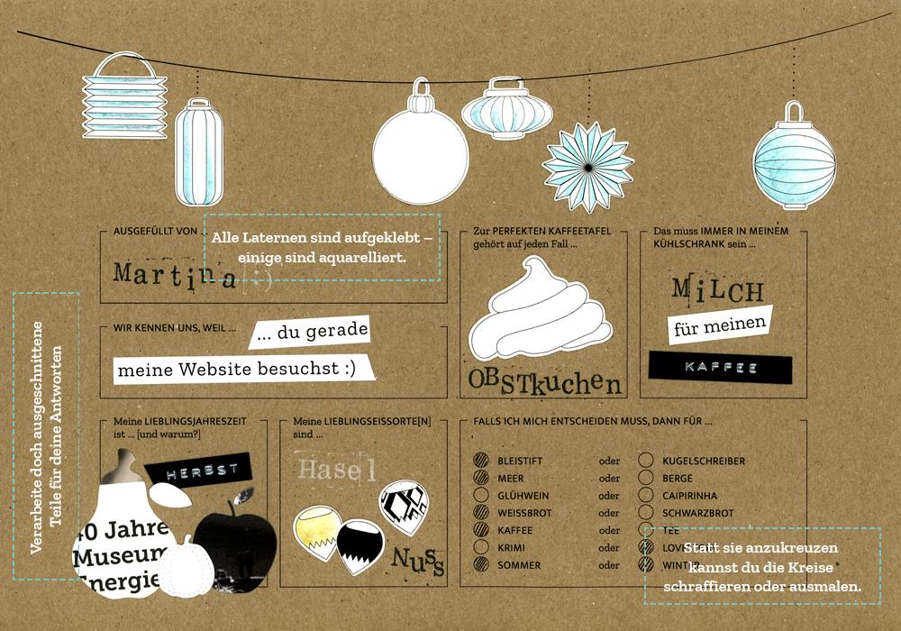 Ideen für Text und Bilder zu Lieblingsjahreszeit und unabdingbarem Kühlschrankinhalt.