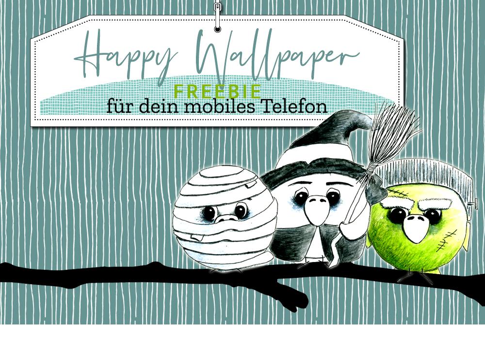 Wallpaper für dein mobiles Telefon – Happy Halloween