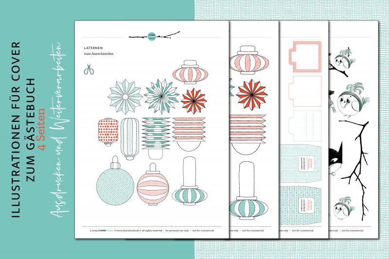 CHARM Trails – Illustrationen um Umschläge, Cover und Bücher zu gestalten