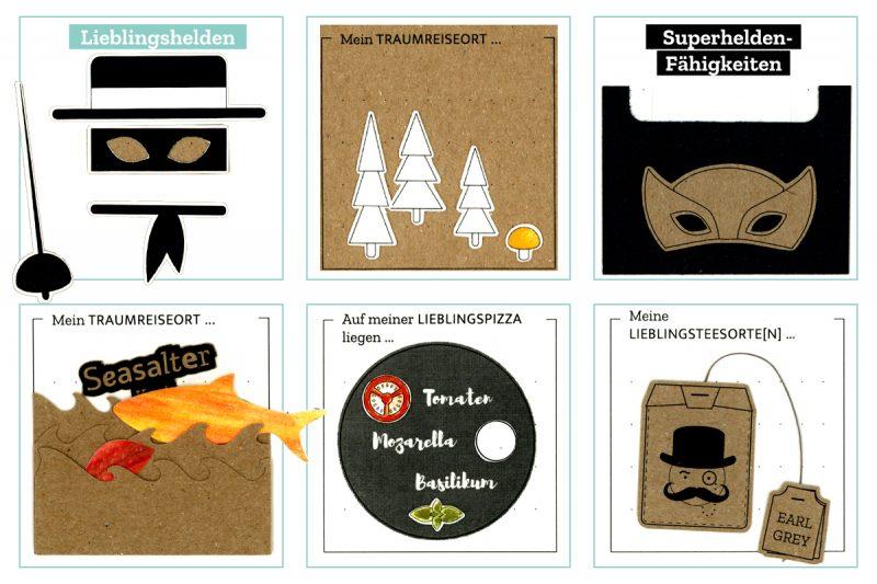 CHARM Trails – Ideen, was du mit den Illustrationsvorlagen gestalten kannst.