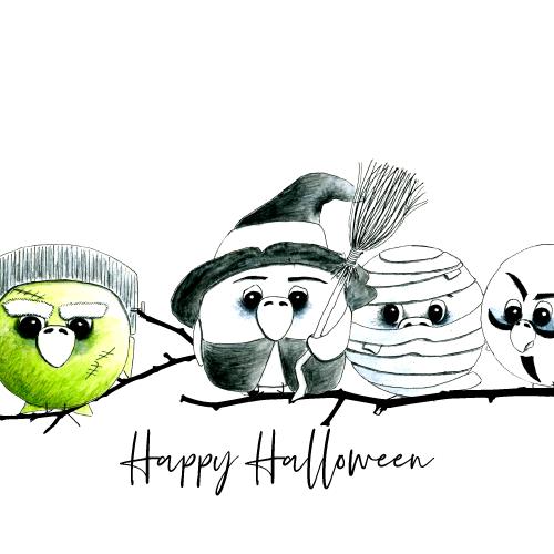 Halloween-Botschafter des fröhlichen Grauens