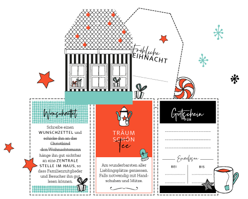 CHARM Trails Adventskalender Inhaltsideen und Freebie